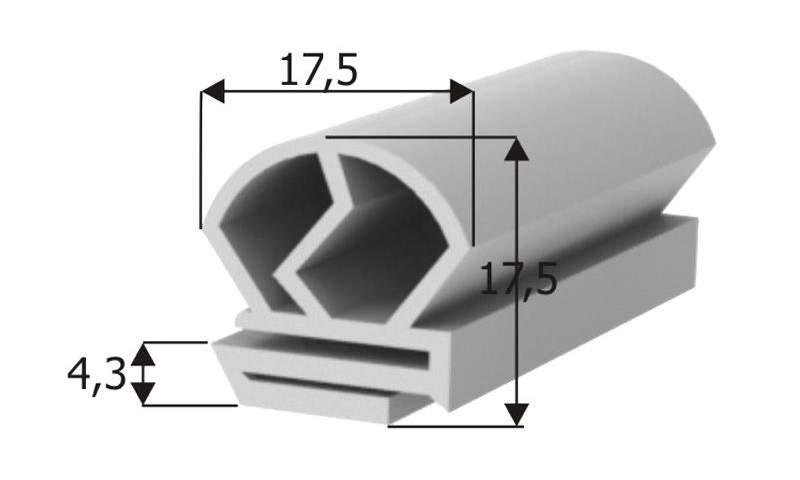 İ-TP 107 Special Cooler Gasket