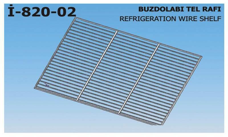 İ-820-02 Refrigeration Wire Shelf