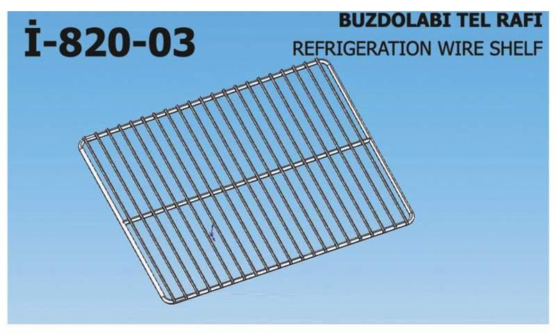 İ-820-03 Refrigeration Wire Shelf