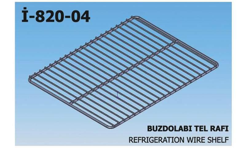 İ-820-04 Refrigeration Wire Shelf