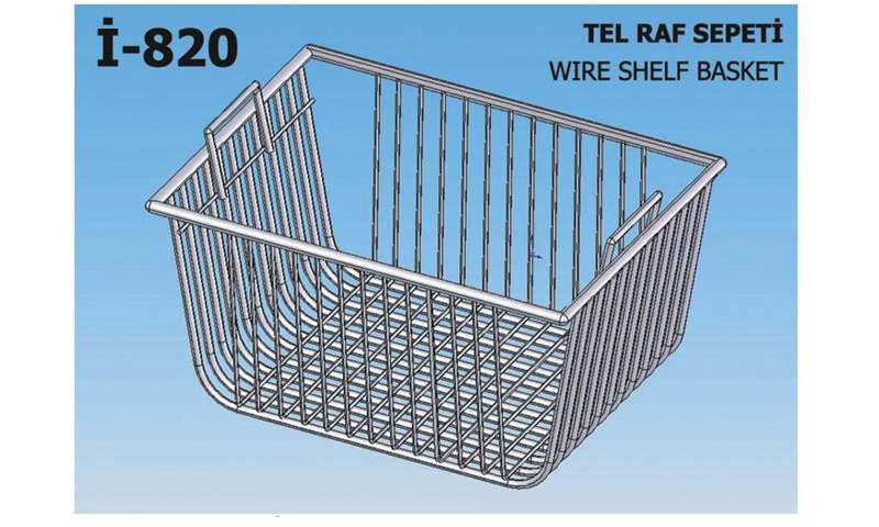 İ-820 Wire Shelf Basket
