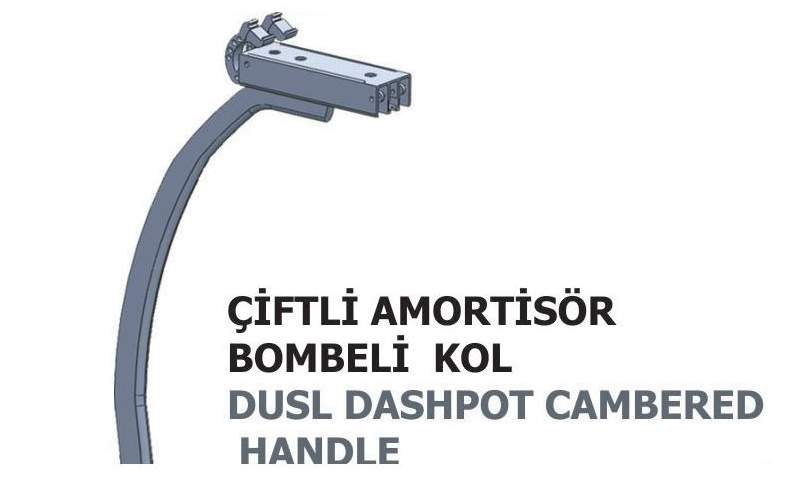 İ-99-05 Double Dashpot Cambered Handle